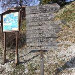 Hochmoor Wanderweg oberhalb Mittersill
