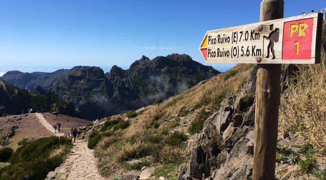Königstour auf das Dach von Madeira, Pico Ruivo 1862m