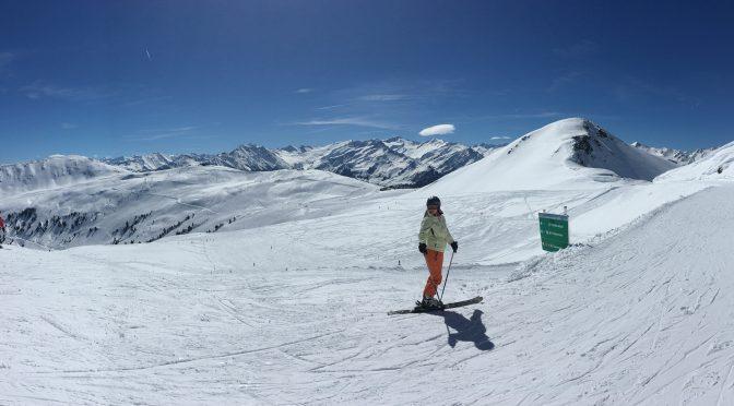 Snowboarden im Skigebiet Wildkogel