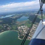 Hoch über Herrsching am Ammersee, Pilsensee und Wörthsee