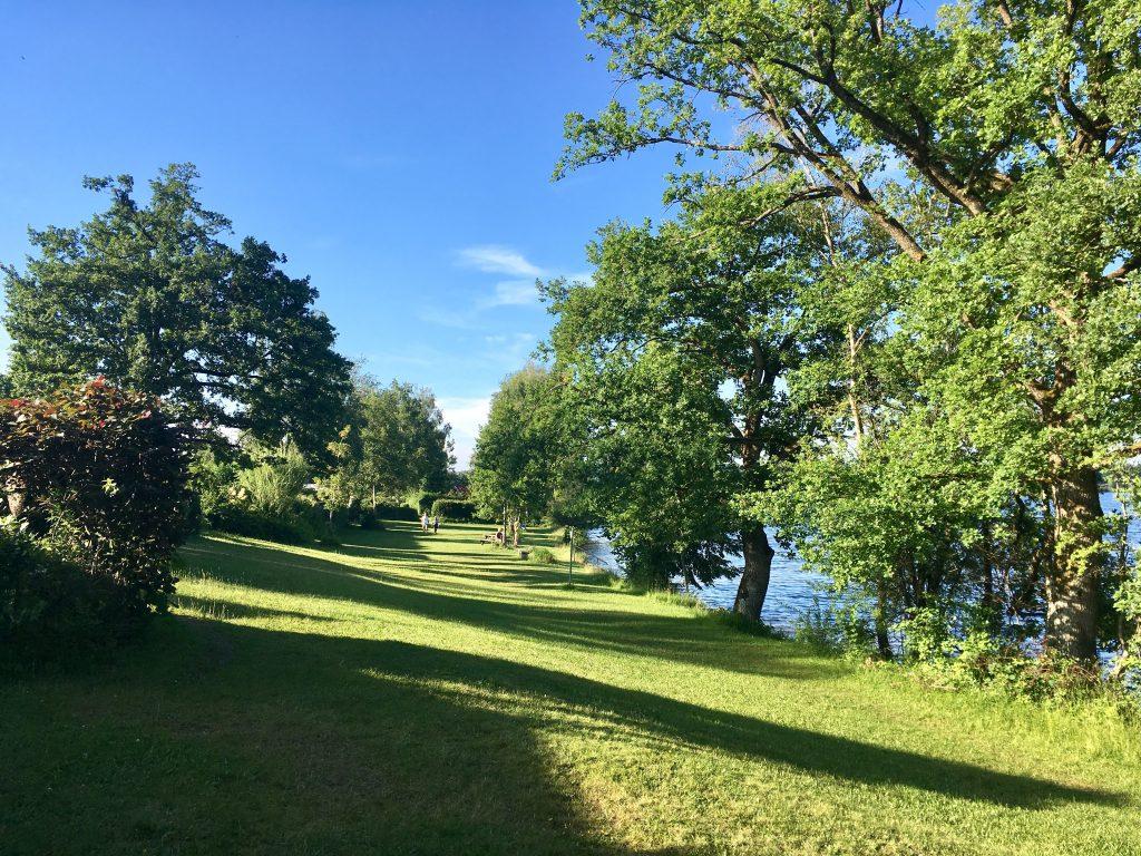 Badestrand am Camping Aichalehof am Staffelsee