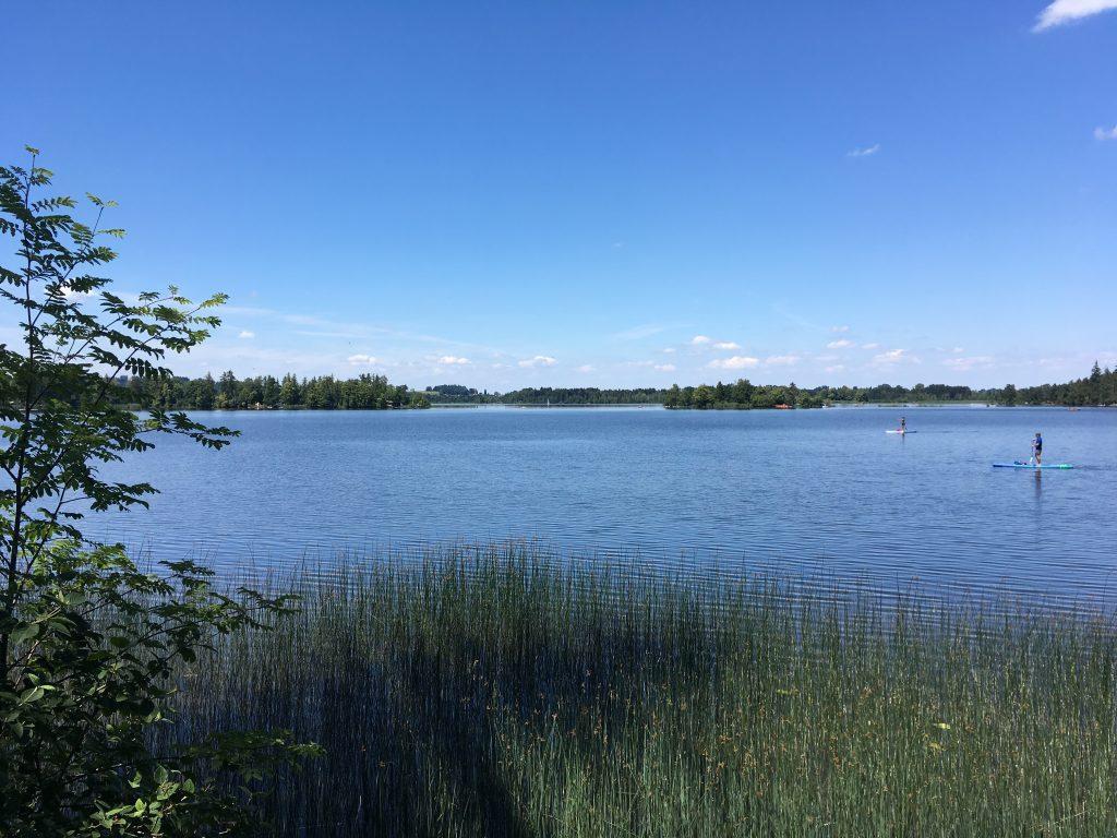 Auf dem Staffelsee Rundweg