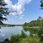 Idyllischer Seitenarm des Brombachsee: Der Igelsbachsee