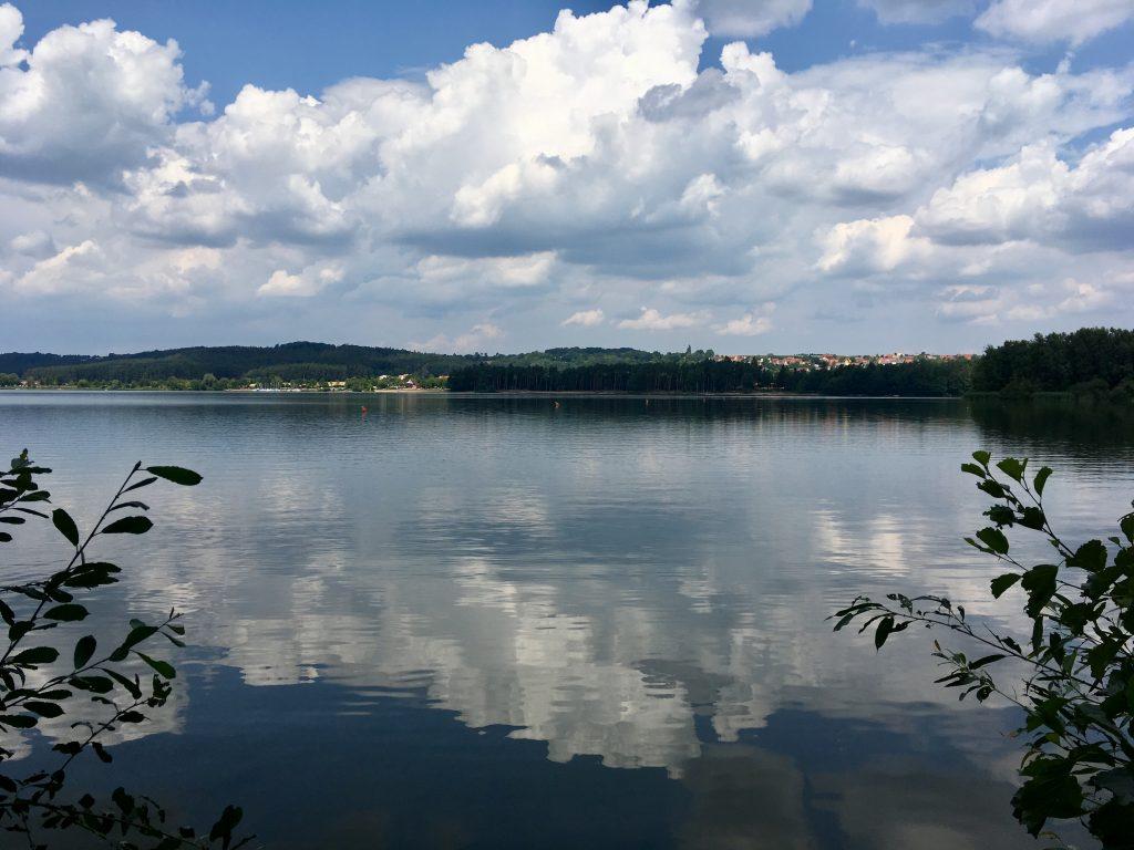Brombachsee in der Fränkischen Seenplatte