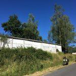 Reste der Grenzmauer bei Görsdorf