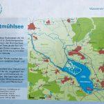 Infotafel Altmühlsee vom Wasserwirtschaftsamt Ansbach