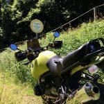 Mitten im Thüringer Wald - hier geht's nicht weiter