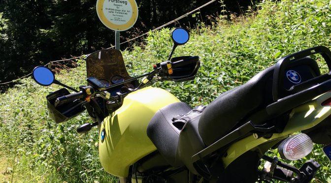 Kurvenrausch im Thüringer Wald
