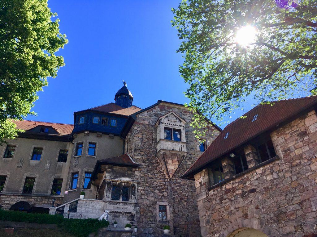 Auf Schloss Elgersburg im Thüringer Wald