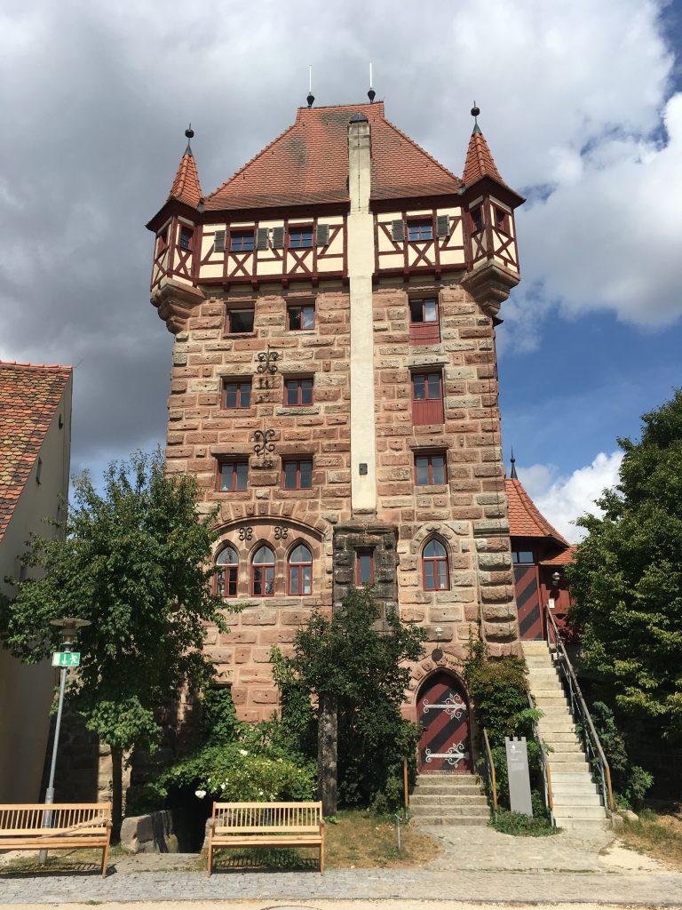 Auf der Burg Abenberg