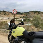 Leider keine Einfahrt - Steinbruch bei Solnhofen