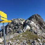 Entscheidung am Kuchlnieder - auf's Kuchlorn oder zurück zur Passauer Hütte?