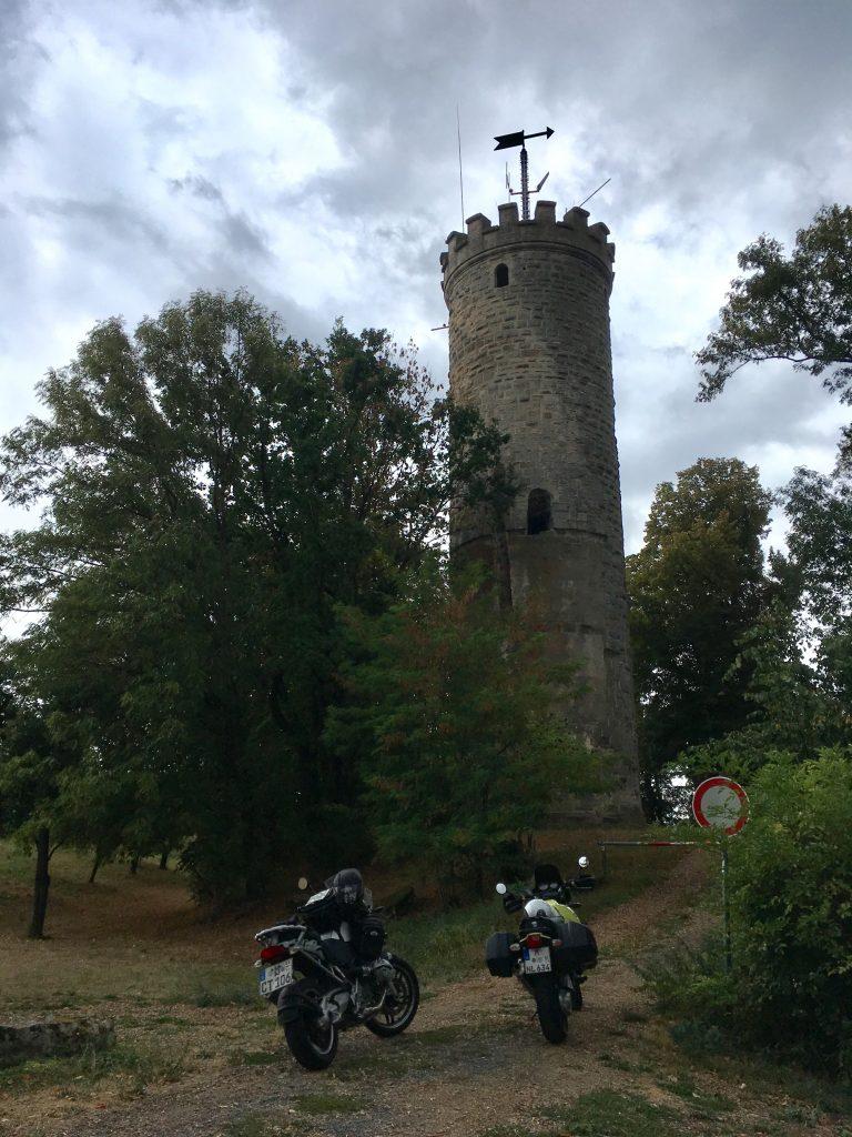 Auf der Wallburg über Eltmann