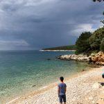 Strand am Camping Slatina bei Martinscica