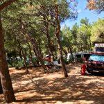 RedBulli auf der Superior-Parzelle des Camping Slatina