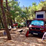 RedBulli auf dem Camping Slatina