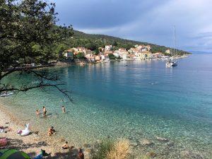 Die kleine Bucht von Valun