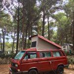 RedBulli auf dem Camping Kovacine
