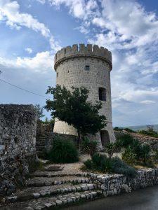 Über der Altstadt von Cres