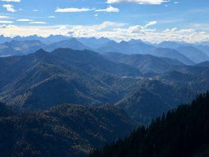 Panorama-Ausblick vom Risserkogel