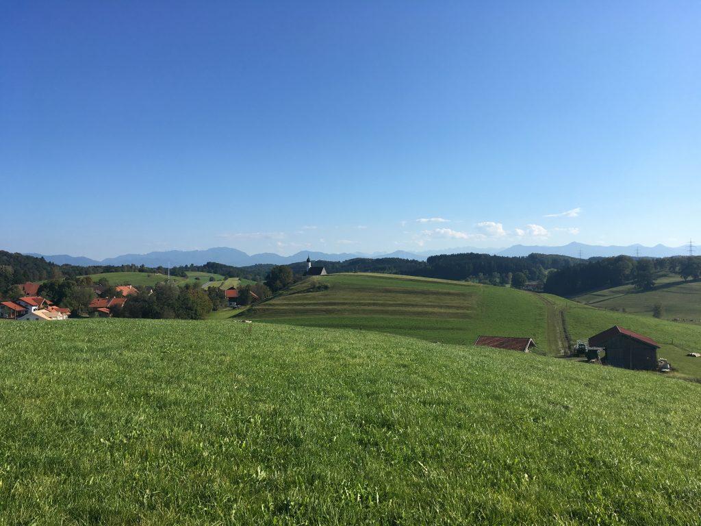 Fernblick oberhalb Jenhausen