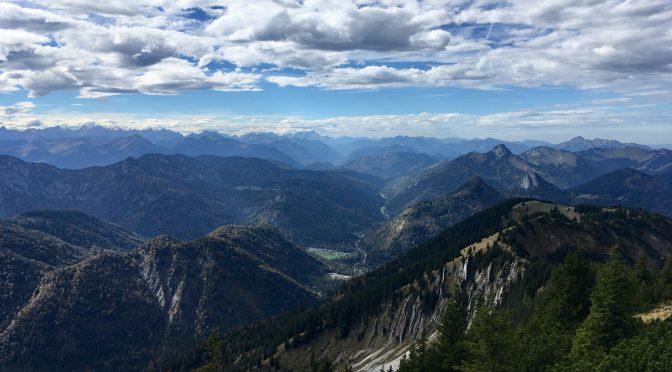 Tolle Herbst-Kombi: Tegernsee-Sauna und Risserkogel-Bergtour