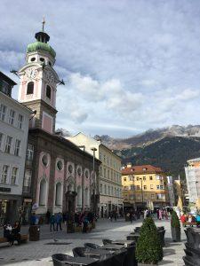 In der Innenstadt von Innsbruck