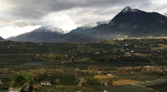 Stürmischer Kurztrip nach Südtirol