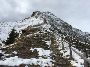 Anstieg zur Mutspitze auf 2.291m