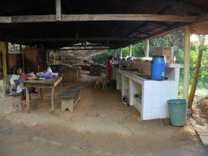"""""""Küche"""" im Casa Alfredo"""