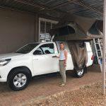Abholung des Hilux bei Africa 4x4 Car Rental