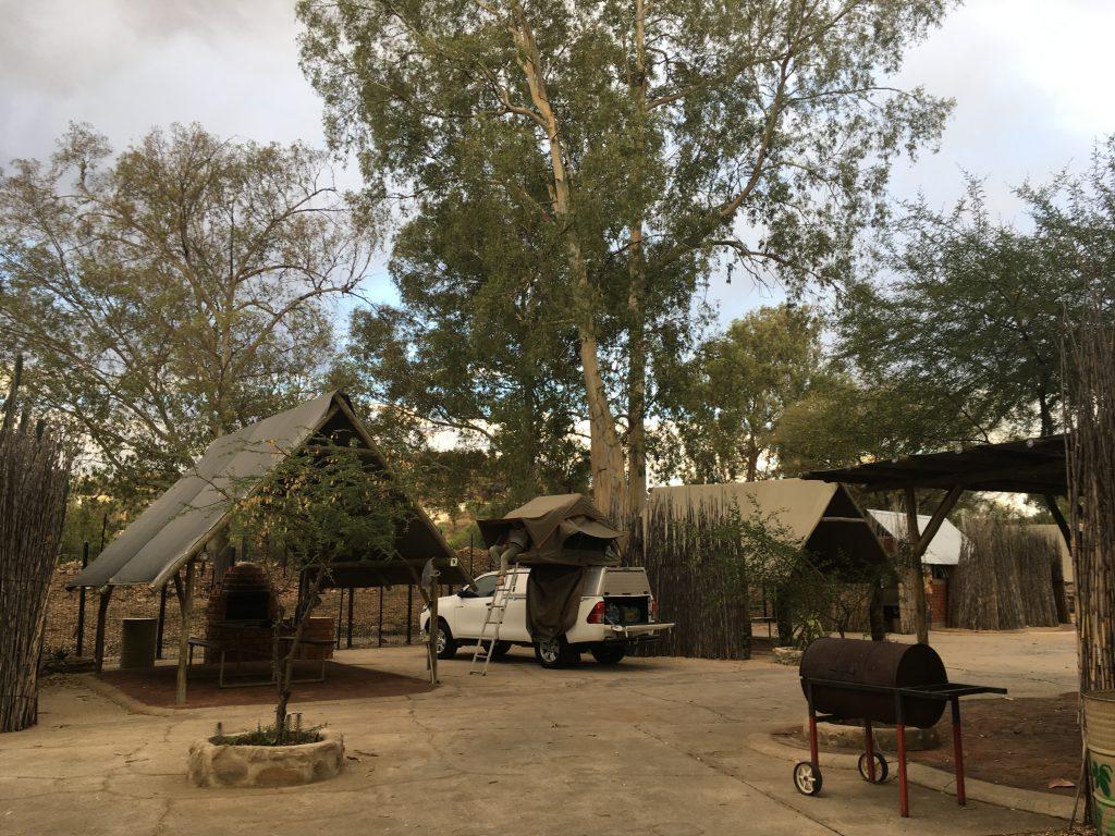 Stellplatz im Urban Camping