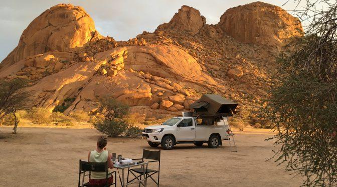 Namibia – vom Damaraland ins Erongogebirge