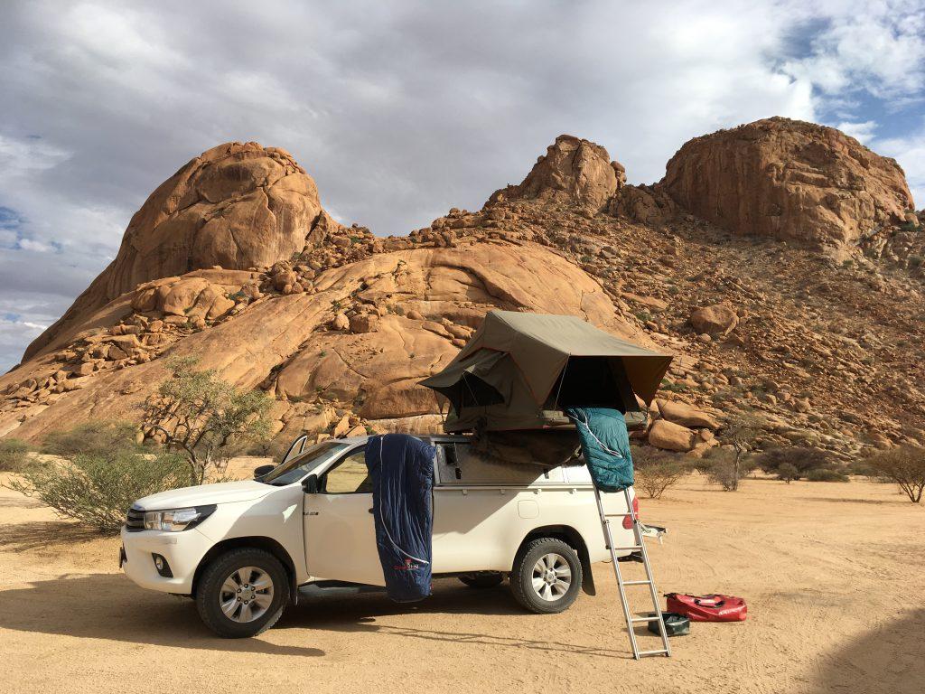 Camp an der Spitzkoppe