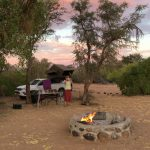 Braai an der White Lady Lodge am Brandberg
