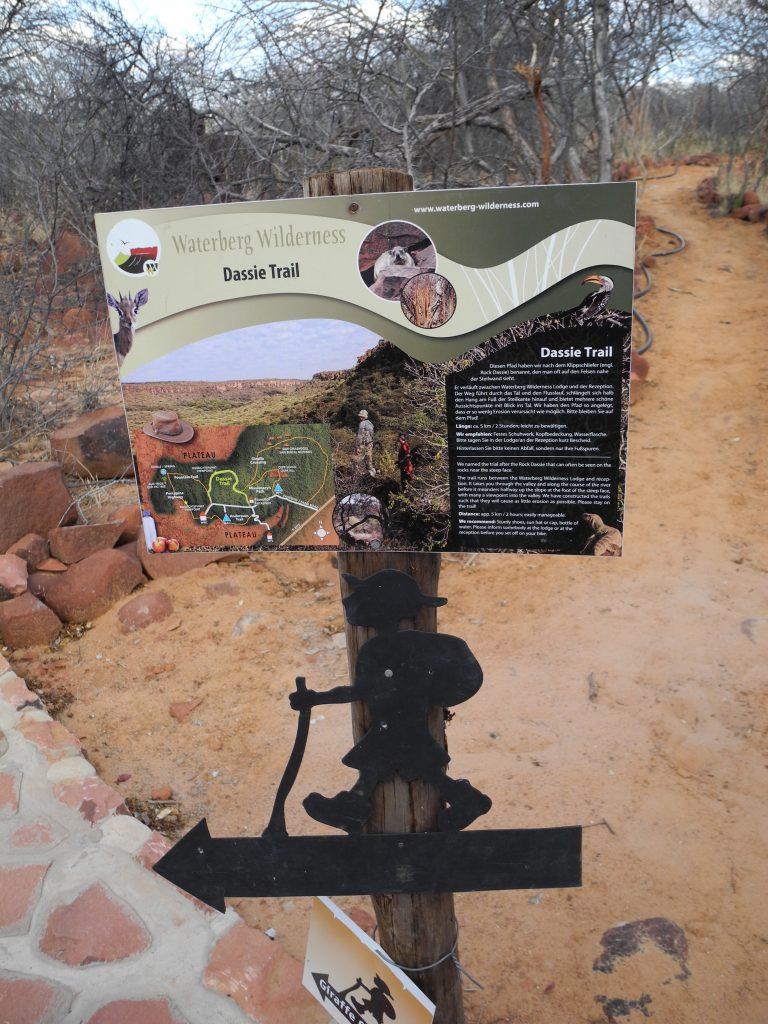 Dassie-Trail: Wanderung am Waterberg