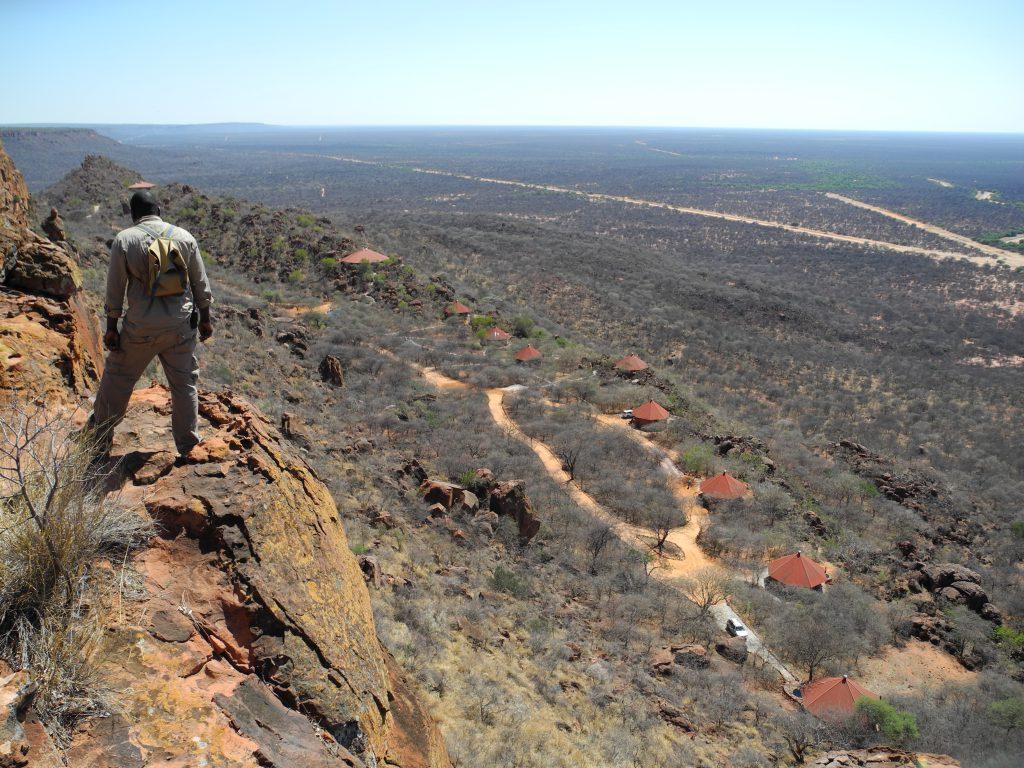 Blick in die Weite der Kalahari