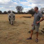 Bei den Nashörnern am Waterberg