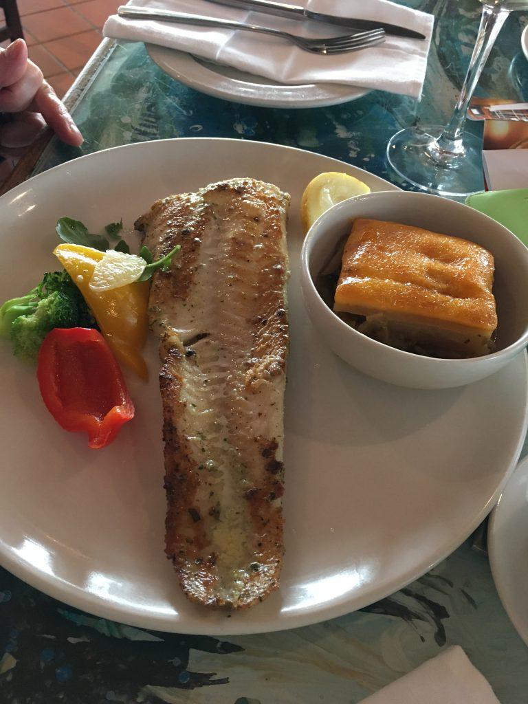 """Fisch essen im """"The Tug"""""""