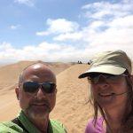 In der Namib-Wüste bei Walvis Bay