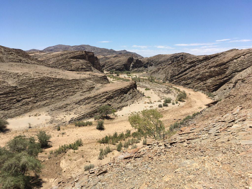 Unten im Kuiseb Canyon
