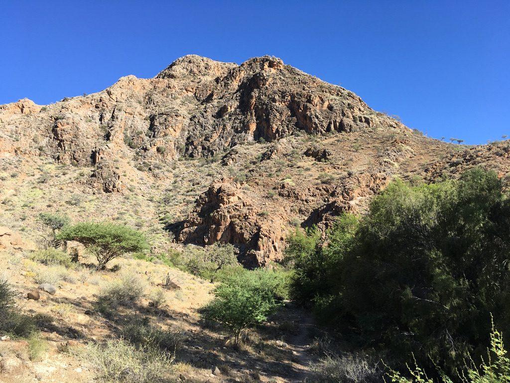 Wilde Berge im Namib Naukluft Park