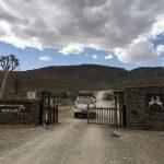 Einfahrt in den Namib Naukluft Park