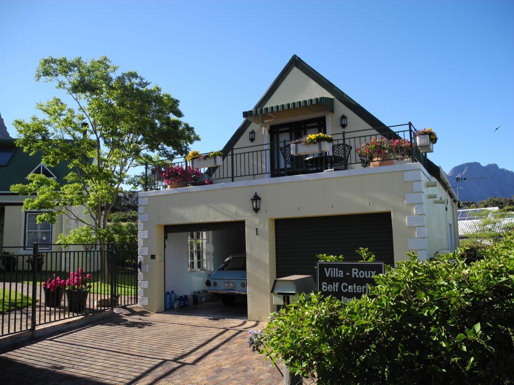Villa-Roux in Franschhoek