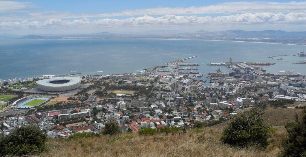 Kapstadt vom Signal Hill aus