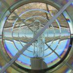 Leuchtmittel und Reflektor des Leuchturm-Lichts
