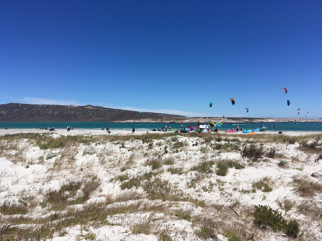 Dünenspaziergang in Langebaan