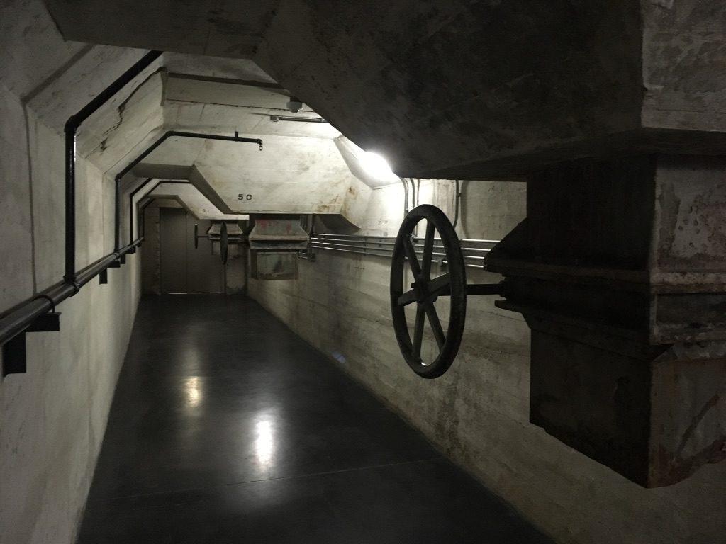 Tief unten im Zeitz-MOCAA-Museum