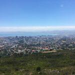 Sicht über Kapstadt von der Tafelberg-Station aus