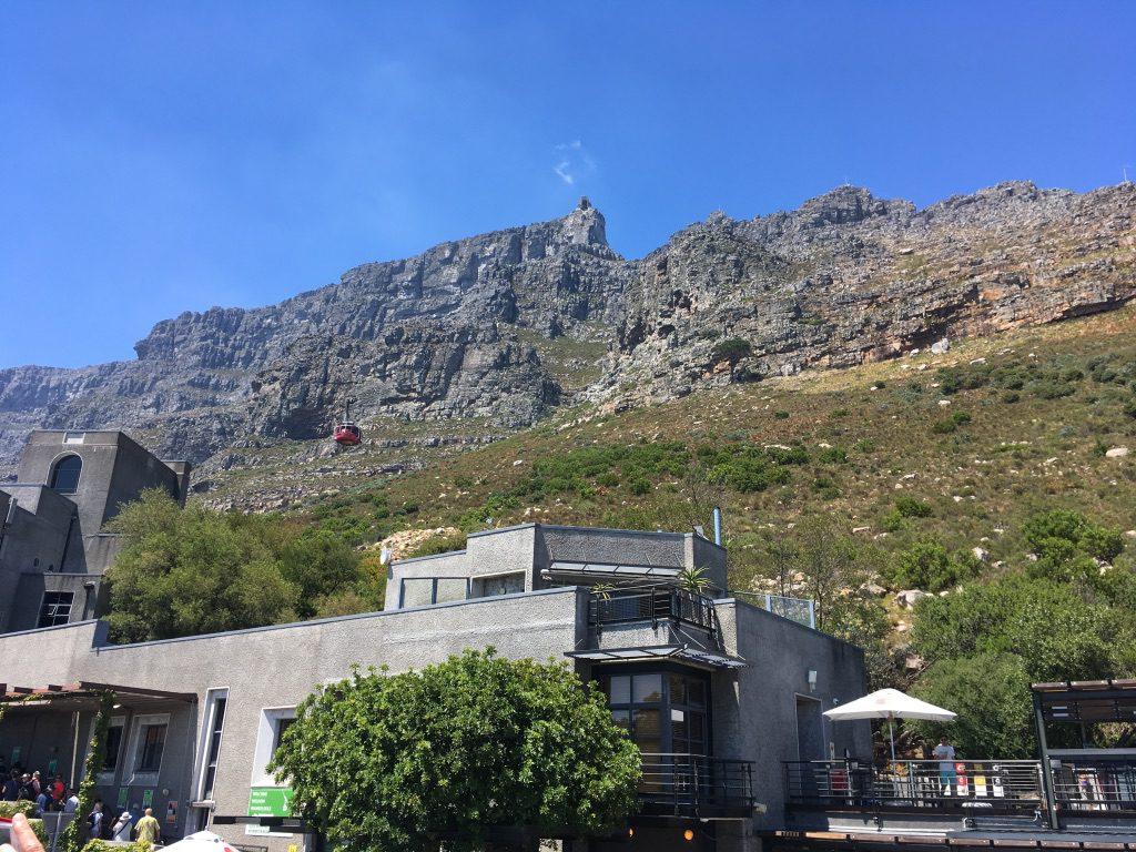 Talstation der Tafelberg-Bahn